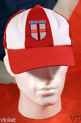 England baseball cap with St George's Cross NEW souvenir hat for sports fans