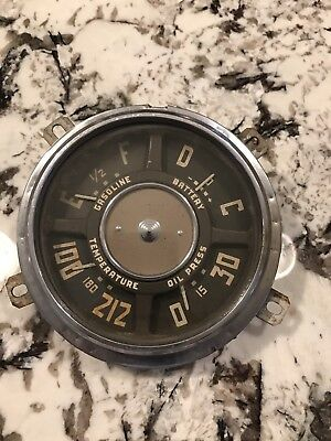1947 to 1953 Chevy GMC Truck Gauge Cluster