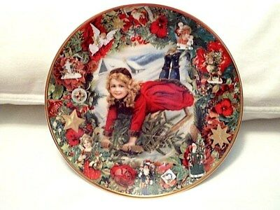 CHRISTMAS DELIVERY John Grossman Victorian Christmas Memories Plate Collection