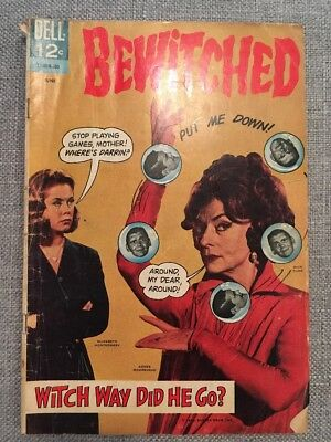 Bewitched Comic Book (Dell 1966 No. 5) Collectible Comics tv shows rare