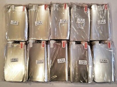 Lot Of 1000 Samsung S8 & S8 Plus Screen Protectors New 500 of Each Freeshipping