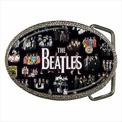 NEW* HOT THE BEATLES Quality Chrome Belt Buckle Gift
