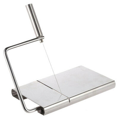 Stainless Steel Cheese Slicer Butter Cake Cutting Cutter Kitchen Baking Tool A9R