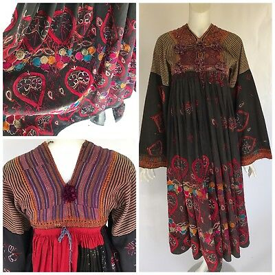 Vintage Antique Kohistani Pieced Ethnic Bedouin Tribal Wedding Dress