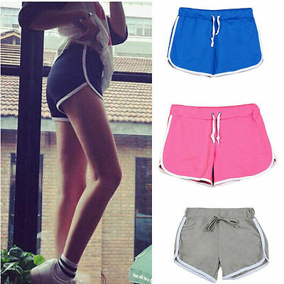 Ladies Summer Casual Shorts Running Gym Sports Short Beach Yoga Cotton Hot Pants