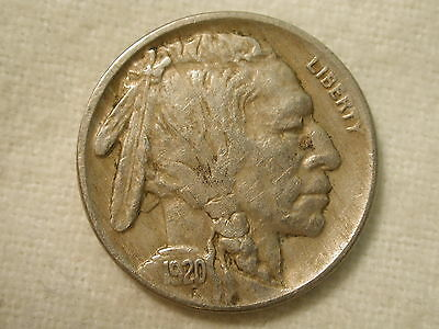 1920 U.S. Five Cent Buffalo Nickel Extremely Fine