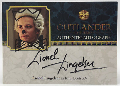 Cryptozoic Outlander Season Two Auto - LL - Lionel Lingelser as King Louis XV