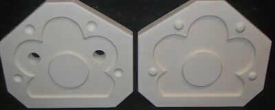 Ceramic Mold Molds SUNFLOWER WALL PICTURE FRAME Duncan 2208