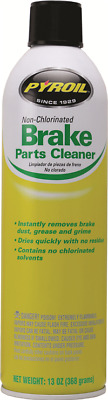 PYROIL NON-CHLORINATED BRAKE CLEANER 13oz $3.75 each