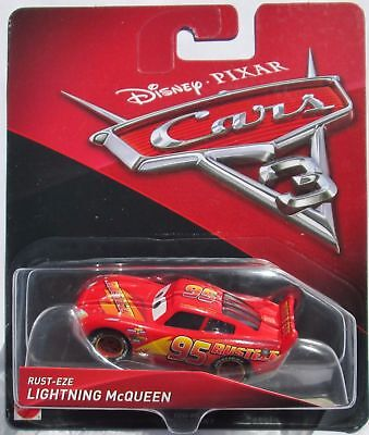 Disney/Pixar Cars 3 Rust-Eze Lightning Mcqueen # 95 1:55 Scale Die-cast Vehicle