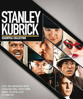 Stanley Kubrick Collection (8 Blu-Ray Disc) - ITALIANO ORIGINALE SIGILLATO -