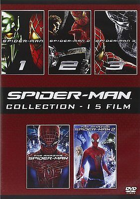 Spider-Man Collection (5 DVD) - ITALIANO ORIGINALE SIGILLATO -