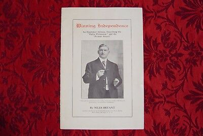 Booklet titled Winning Independence by Niles Bryant & Piano Tuning Device.