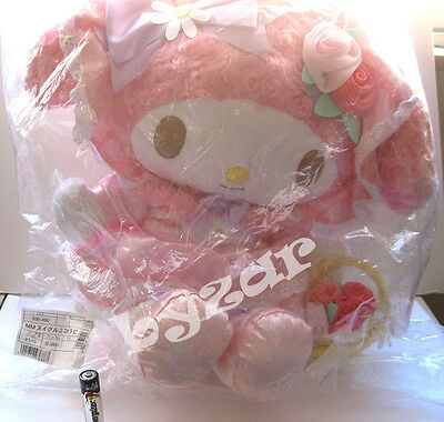 Sanrio 40th Anniversary large My Melody Secret Garden plush doll