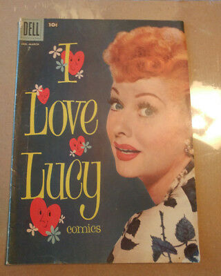 I Love Lucy Comic Book- DOUBLE COVER-  Jan - March 1958 Vol1 No18  -DOUBLE COVER