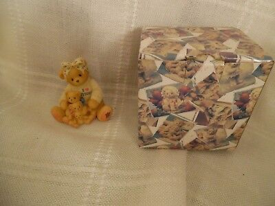 RETIRED 1998 CHERISHED TEDDIES''Mother's Love '' BY ENESCO