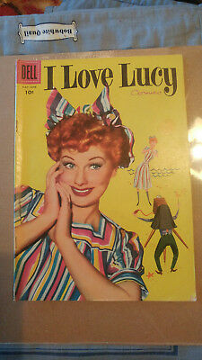 I Love Lucy Comic Book May - June 1956 Vol1 No10