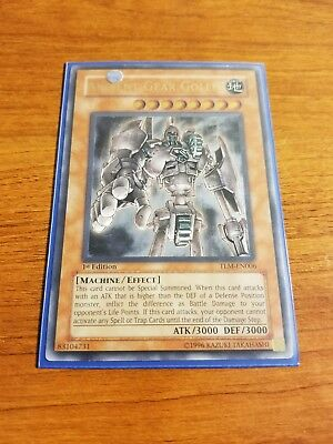 Yugioh Ancient Gear Golem TLM-EN006 Ultimate Rare 1st Edition nm