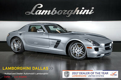 2012 Mercedes-Benz SLS AMG Base Coupe 2-Door NAVIGATION+REAR VIEW CAMERA+PWR SEATS+DESIGNO INTERIOR+DBL SPOKE AMG WHEELS