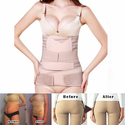 3 in 1 Shaper Postpartum Support Recovery Belly Waist Pelvis Belt Maternity Band