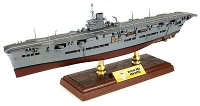 HMS Ark Royal British Aircraft Carrier  diecast model  with plastic parts