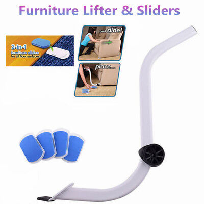 Furniture Lifter Moves with EZ Mover Sliders Kit Home Moving Lifting System AU