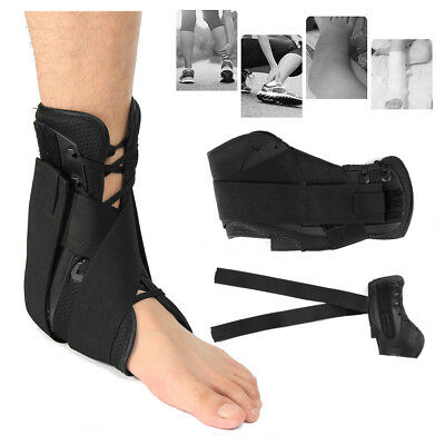 Adjustable Ankle Support Corrector Brace Foot Guard Sprains Injury Pain Protecto