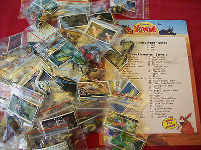 Yowies Spring Sale Discount *series 1 Full Set All 50 Austalian & N Z Animals