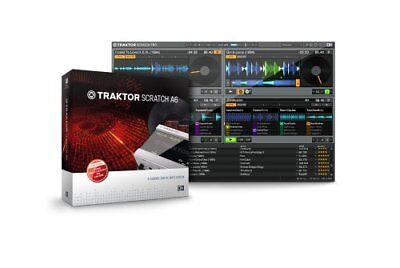21903 Native Instruments TSA6 Traktor Scratch A6