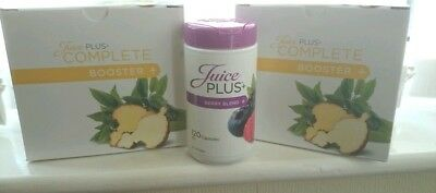 Juice Plus boosters 2 Full boxes 1 berry capsules all new sealed, BB 09/2018