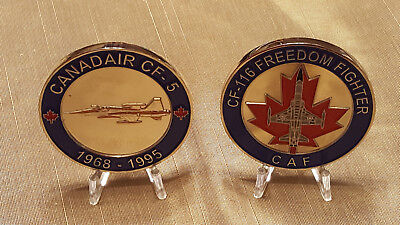 CF 5 Freedom fighter Military Challenge Coin