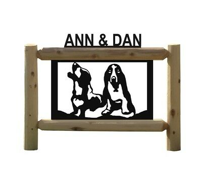 Personalized Dog Signs - Basset Hounds - Pets