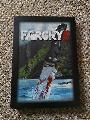 Far Cry 3 Steelbook Steelcase G1 PS3 Xbox 360 NEW -- NO GAME