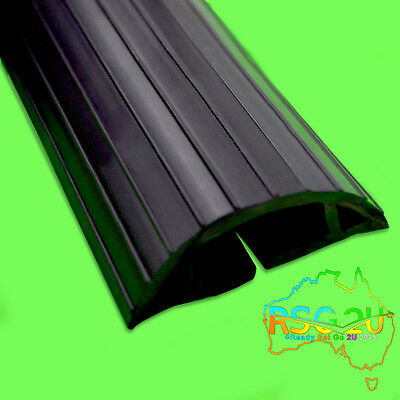 Cable Protector Pvc Type Black Australian Made Conceal Power /data Cords 1 Meter