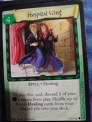 Mint! Harry Potter Trading Card Game!card #91/116 Healing Spell (Hospital Wing)!