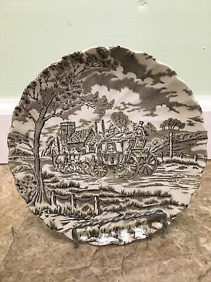 Royal Mail Fine Staffordshire Ironstone Saucer - Made in England