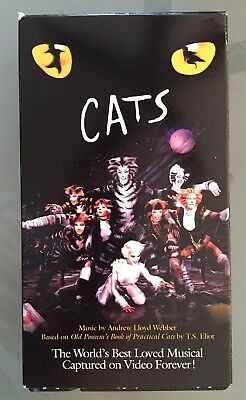 CATS THE MUSICAL (VHS, 1998) , $0.99