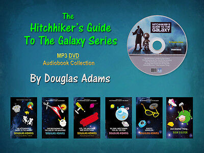 The Complete HITCHHIKER'S GUIDE TO THE GALAXY Series D. Adams (6 MP3 Audiobooks)