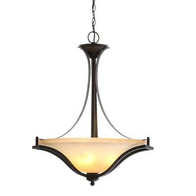 Commercial Electric 3-Light Rustic Iron Pendant, ESS8913