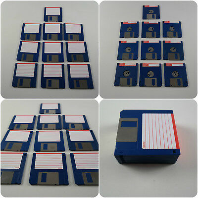 "10 3.5"" DS DD Floppy Disks Amiga formatted fully checked no errors Atari ST PC"