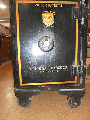 Antique Victor Floor Safe