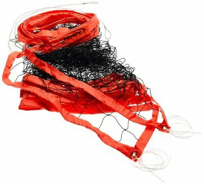 Volleyball Net Official Heavy Duty Cable Orange Outdoor Sports Equipment