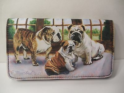 BULL DOG  Wallet By Ruth Maystead Best Friends Forever