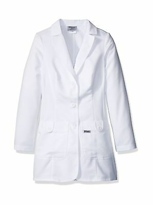 Grey's Anatomy Women's 32 Inch Two Pocket Fitted Lab Coat White XXXXX-Large