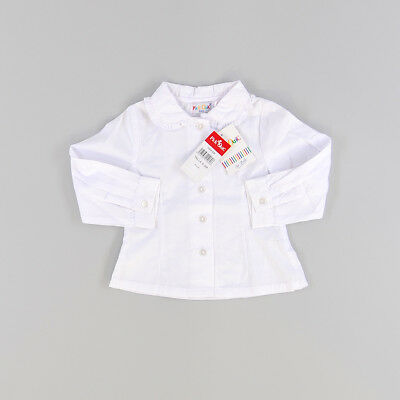Camisa color Blanco marca Pick Ouic 6 Meses