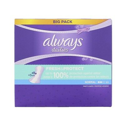 Always Dailies Panty Liners Normal Fresh & Protect Odour Neutralising - 300 Pack
