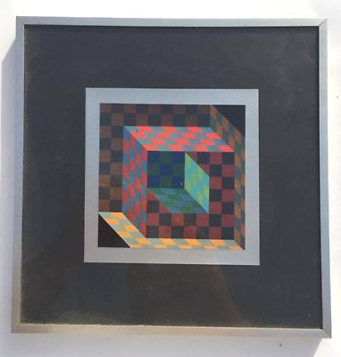 CADRE VASARELY VICTOR - Années '70