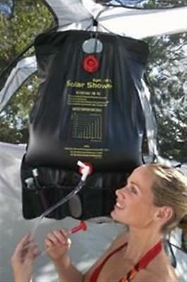 Texsport 4.5 Gallon Solar Camp Shower. Portable and Enough for 2 or 3 Showers