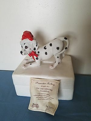 *NEW* 1992 Limited Edition PRINCETON GALLERY Christmas Dalmatian COA #2822/9500