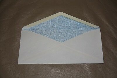 """Columbian CO128 (#10) 50 White Security Tinted Envelopes Stationary 4 1/8""""x9.5"""""""